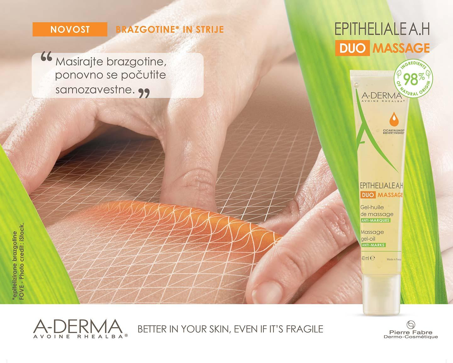 EPITHELIAL AH-DUO MASSAGE GEL-OLJE