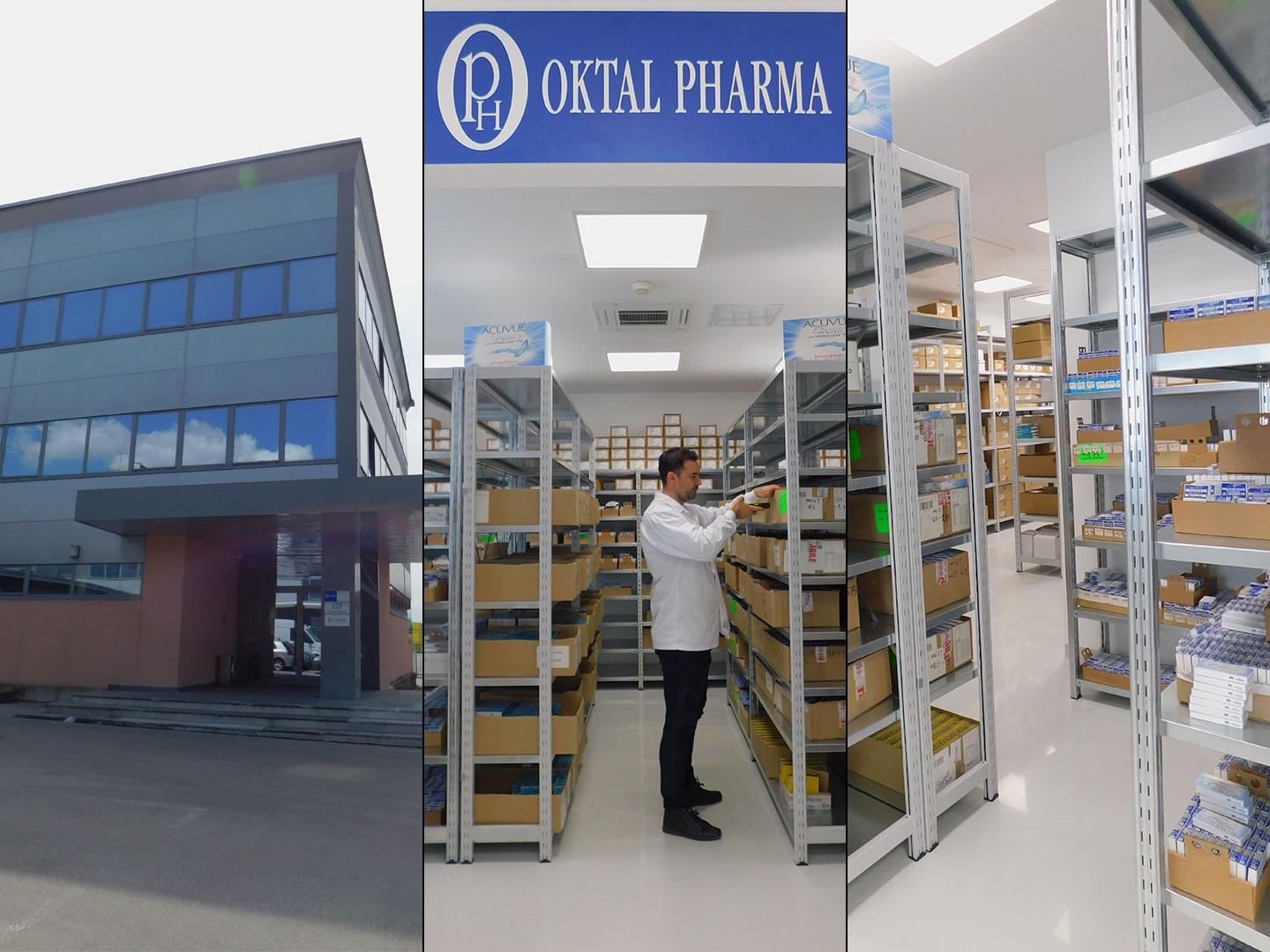 OPH Oktal Pharma d.o.o. Ljubljana renovates storage facilities