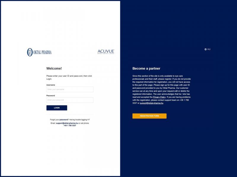 Hungary B2B web store